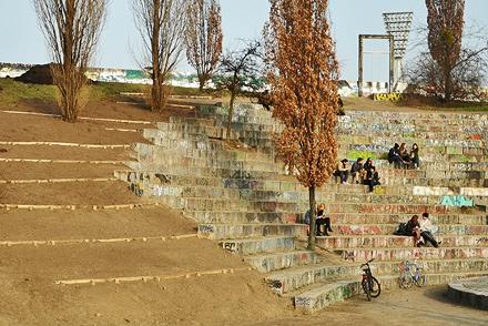 Renovierung des Amphitheaters im Mauerpark