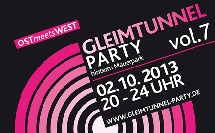OST feiert mit WEST – Gleimtunnel-Party Vol. 7