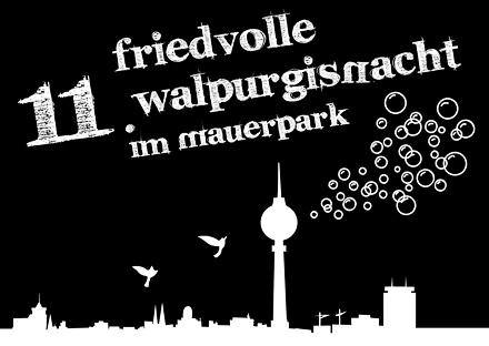 11. Friedvolle Walpurgisnacht im Mauerpark (2014)