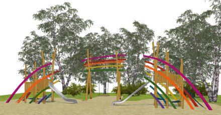 Mauerpark-Regenbogen