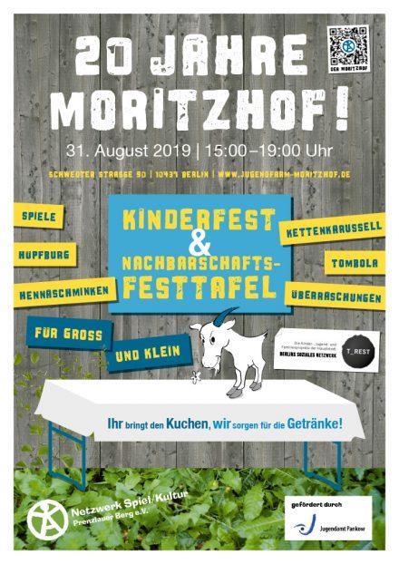 Lasst uns feiern: 20 Jahre Jugendfarm Moritzhof
