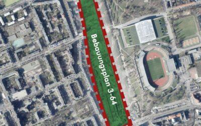 Mauerpark-Erweiterung: Bebauungsplan ausgelegt