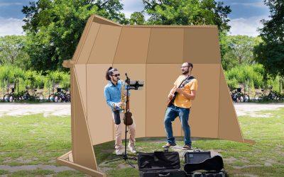 Acoustic Shells:  Pilotprojekt im Mauerpark gestartet