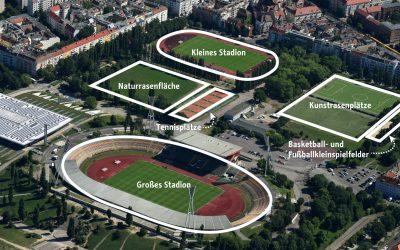 Umfrage zur sportlichen Nutzung des Jahnsportparks