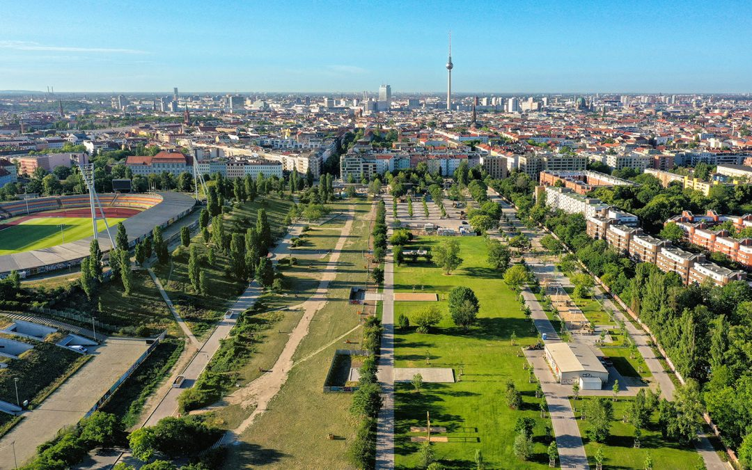 Mauerpark is now finished