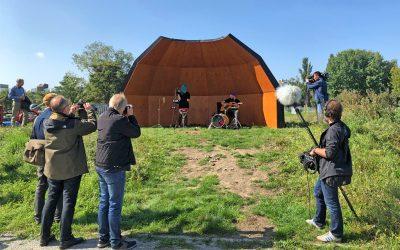 Einweihung der 1. Acoustic Shell im Mauerpark