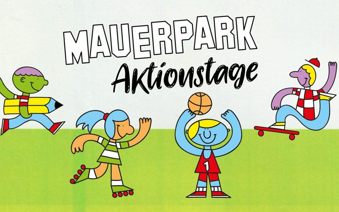 Mauerpark Aktionstage: Gestalte Deinen Park